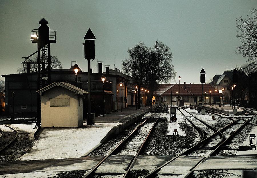 Der letzte Zug ist weg, Bahnhof Werningerode