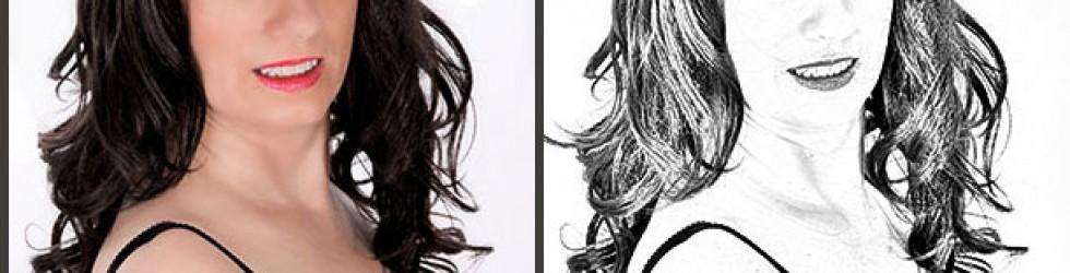 Foto in Zeichnung umwandeln