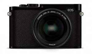 Canon EOS-M mit Vollformat